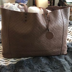 Bottega Veneta Intrecciomirage Dusty Rose Tote